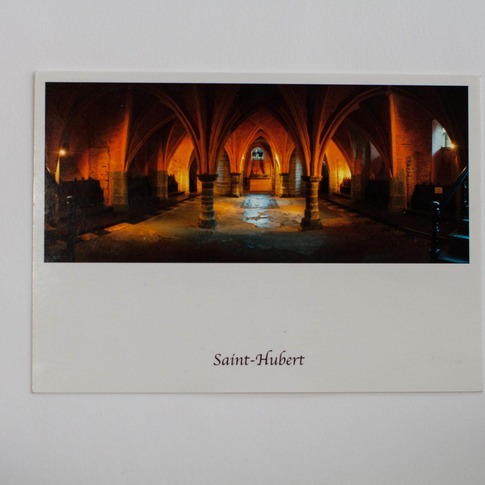 crypte basilique saint hubert